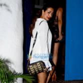 Malaika Arora spotted at Olive in Bandra