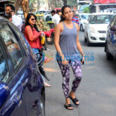 Nidhhi Agerwal and Mira Rajput snapped at Bandra