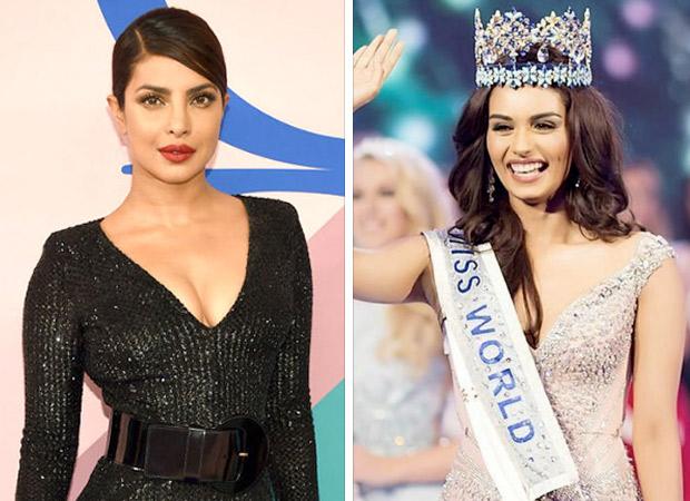 Priyanka Chopra Congratulates Manushi Chhillar For Winning Miss
