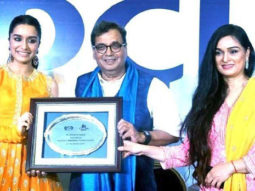 Shraddha Kapoor gets felicitated at IFFI 2017-1