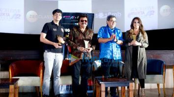 Subhash Ghai, Mahima Chaudhary and others at Pardes screening