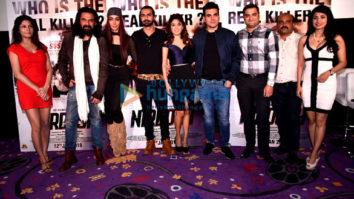 Arbaaz Khan, Manjari Fadnis, Mahek Chahal at 'Nirdosh' trailer launch