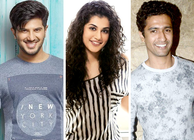 Dulquer Salmaan to be third actor in the love triangle with Taapsee Pannu and Vicky Kaushal