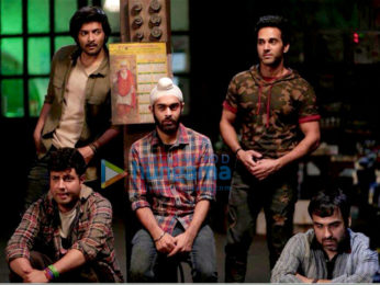 On The Sets Of The Movie Fukrey Returns