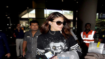 Jacqueline Fernandez and Ibrahim Ali Khan snapped at the airport
