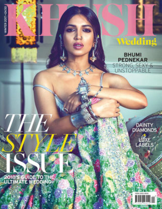 Bhumi Pednekar On The Cover Of Khushi Wedding