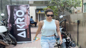 Malaika Arora and Deepika Padukone snapped at the gym