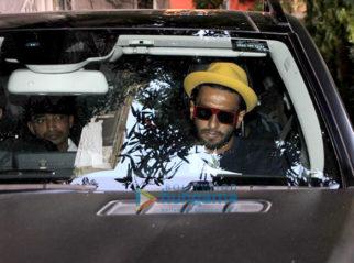 Ranveer Singh and Alia Bhatt spotted at Zoya Akhtar's office