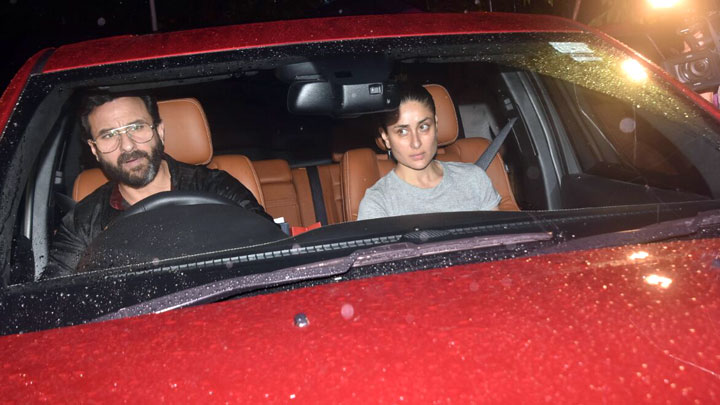 Saif Ali Khan Kareena Kapoor Khan Kajol At Shashi Kapoor's Residence to pay their last respect
