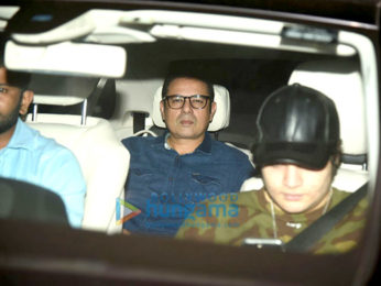 Salman Khan, Salim Khan and others snapped at Tiger Zinda Hai screening