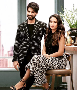 Shahid Kapoor and Mira Rajput twinning in monochrome is the cutest thing you will see today! View Pics (1)
