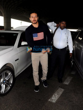 Tiger Shroff, Parineeti Chopra and others snapped at the airport