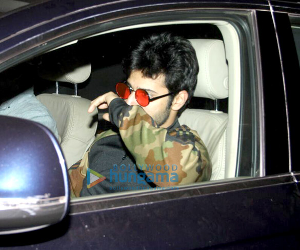 Varun Dhawan and Harshvardhan Kapoor snapped at a clinic in Bandra