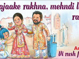 Virat Kohli - Anushka Sharma wedding Amul wishes the newly wedded couple in their trademark style
