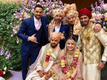 WATCH Virat Kohli left in 'awe' when his bride Anushka Sharma walks down to the aisle  (3)