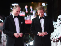WOAH! Prince William and Prince Harry have a blast at the Star Wars premiere in London