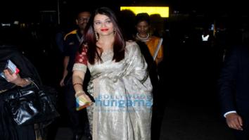Aishwarya Rai Bachchan and John Abraham snapped at the airport