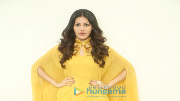 Amyra Dastur snapped in a yellow dress at a photoshoot
