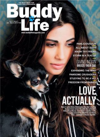 Daisy Shah On The Cover Of Buddy Life, Jan 2018