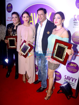 Celebs grace Savvy magazine bash