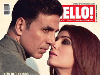 Akshay Kumar, Twinkle Khanna On The Cover Of Hello!