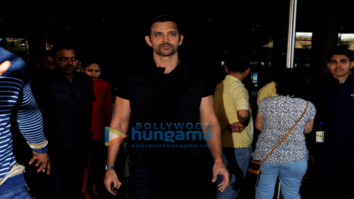Hrithik Roshan, Kangana Ranaut and others snapped at the airport
