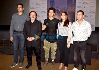 Ishaan Khatter, AR Rahman, Majid Majidi at the Beyond The Clouds trailer launch