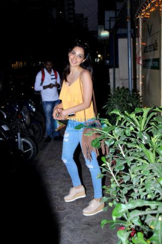 Kiara Advani snapped at Farmers' Cafe