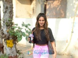 Kunal Kapoor and Nidhhi Agerwal snapped in Juhu