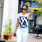 Malaika Arora snapped outside the gym in Bandra