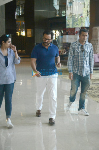 Saif Ali Khan snapped during a photo shoot