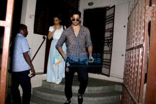 Sidharth Malhotra spotted at Shanker Mahadevan's dubbing studio