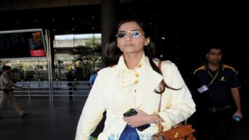 Sonam Kapoor, Kamal Haasan and Ileana D'Cruz Snapped at the airport