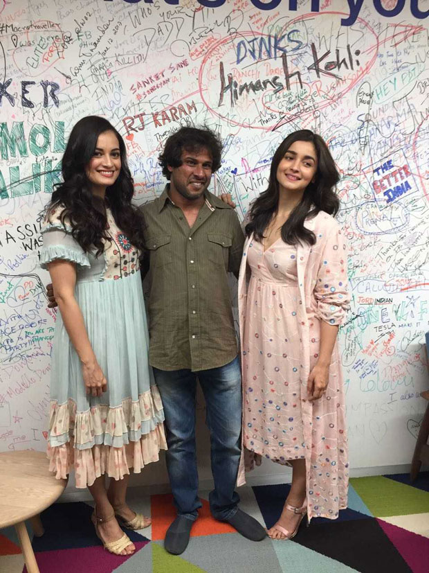 Alia Bhatt attends the latest Coexist initiative with Dia Mirza