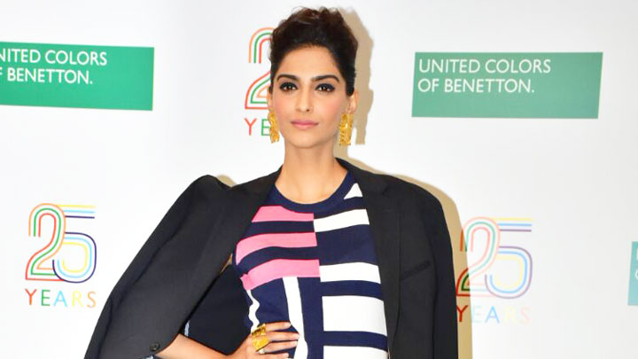Benetton India Celebrates 25 Years Of Heritage With Sonam Kapoor
