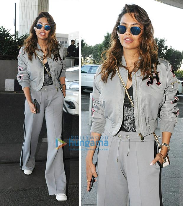 Esha Gupta Airport Style