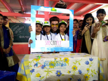 Gurmeet Choudhary celebrates his birthday with the kids of Smile Foundation