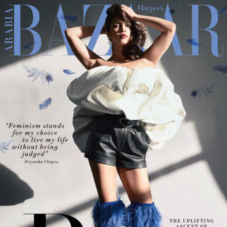 Priyanka Chopra On The Cover Of Harper's Bazaar