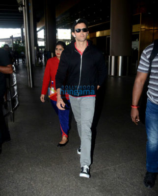 Hrithik Roshan and Emraan Hashmi snapped at the airport