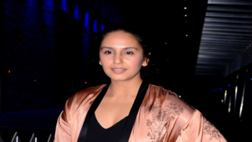 Huma Qureshi spotted after dinner in Bandra