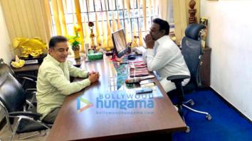 Kamal Haasan snapped meeting Captain Vijayakant