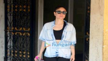 Kareena Kapoor Khan spotted outside her gym in Bandra