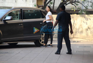 Katrina Kaif snapped outside her gym
