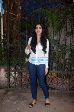Malavika Mohanan and Ishaan Khattar snapped in Mumbai