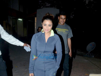 Parineeti Chopra snapped at Filmalaya Studio in Andheri