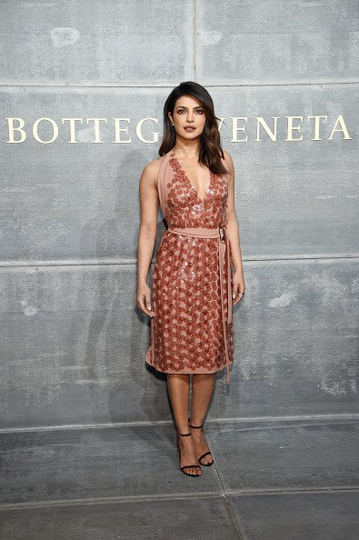 Priyanka Chopra looks sinful in her Mandy Moore inspired chocolaty outing at New York Fashion Week