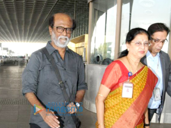 Rajinikanth, Deepika Padukone and others snapped at the airport