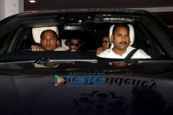 Ranveer Singh and Deepika Padukone snapped at Karan Johar's house