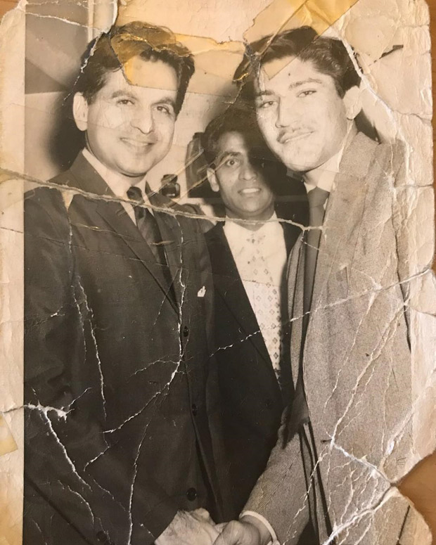 Throwback Thursday: Singer Zayn Malik shares a rare photo of his dad posing with Dilip Kumar