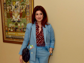 Twinkle Khanna and R Balki grace the Pad Man talk